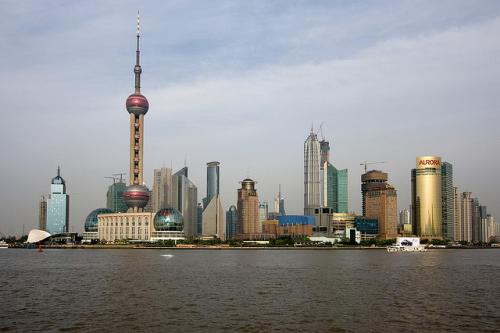 panorama Szanghaju
