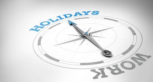 wakacje a praca